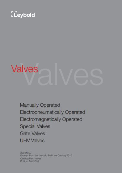 valve catalogue